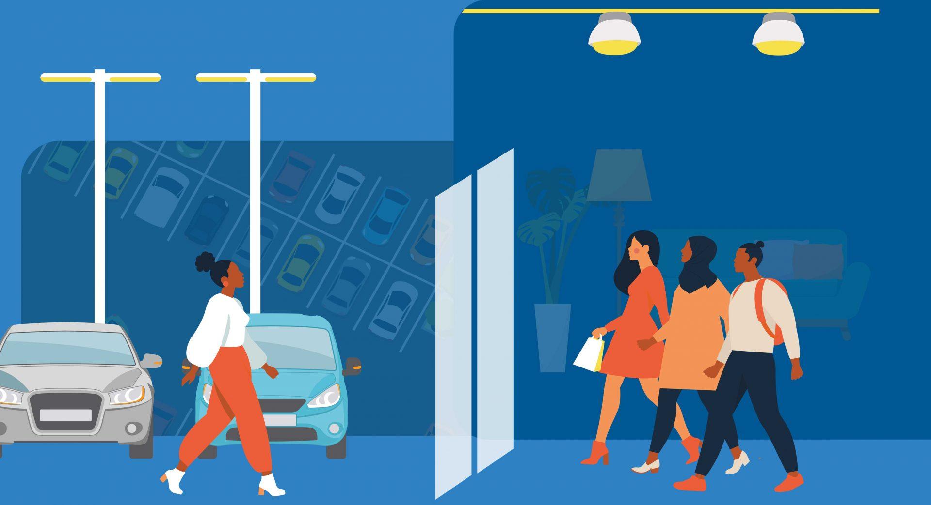 Lighting the return of retail